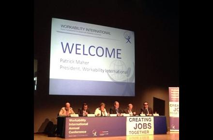 Opening the Workability International Congress in Madrid