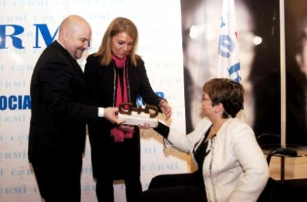 Cermi.es ceremony of the 2014 Award to the Best Action to Benefit Women with Disabilities for the National Observatory on Violence against Women of the Ministry of Health, Social Services and equality