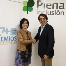 The CERMI and Plena Inclusión have renewed the agreement signed last year to promote measures that favor the inclusion of people with intellectual or developmental disabilities through cognitive accessibility