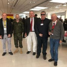 CERMI RM. The UME at the closing ceremony of the simulations in the Region of Murcia